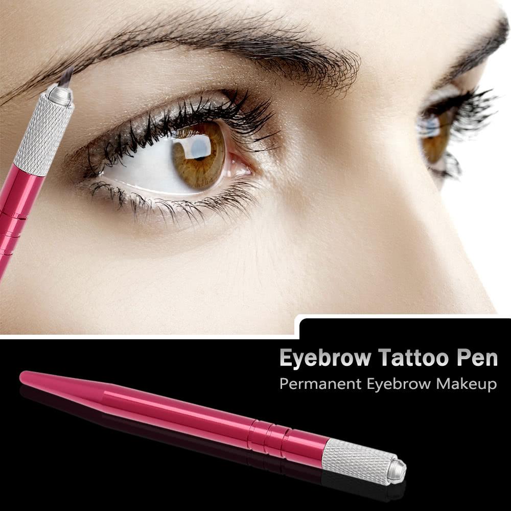 Pro manual eyebrow tattoo pen permanent makeup for Cosmetic eyebrow tattoo