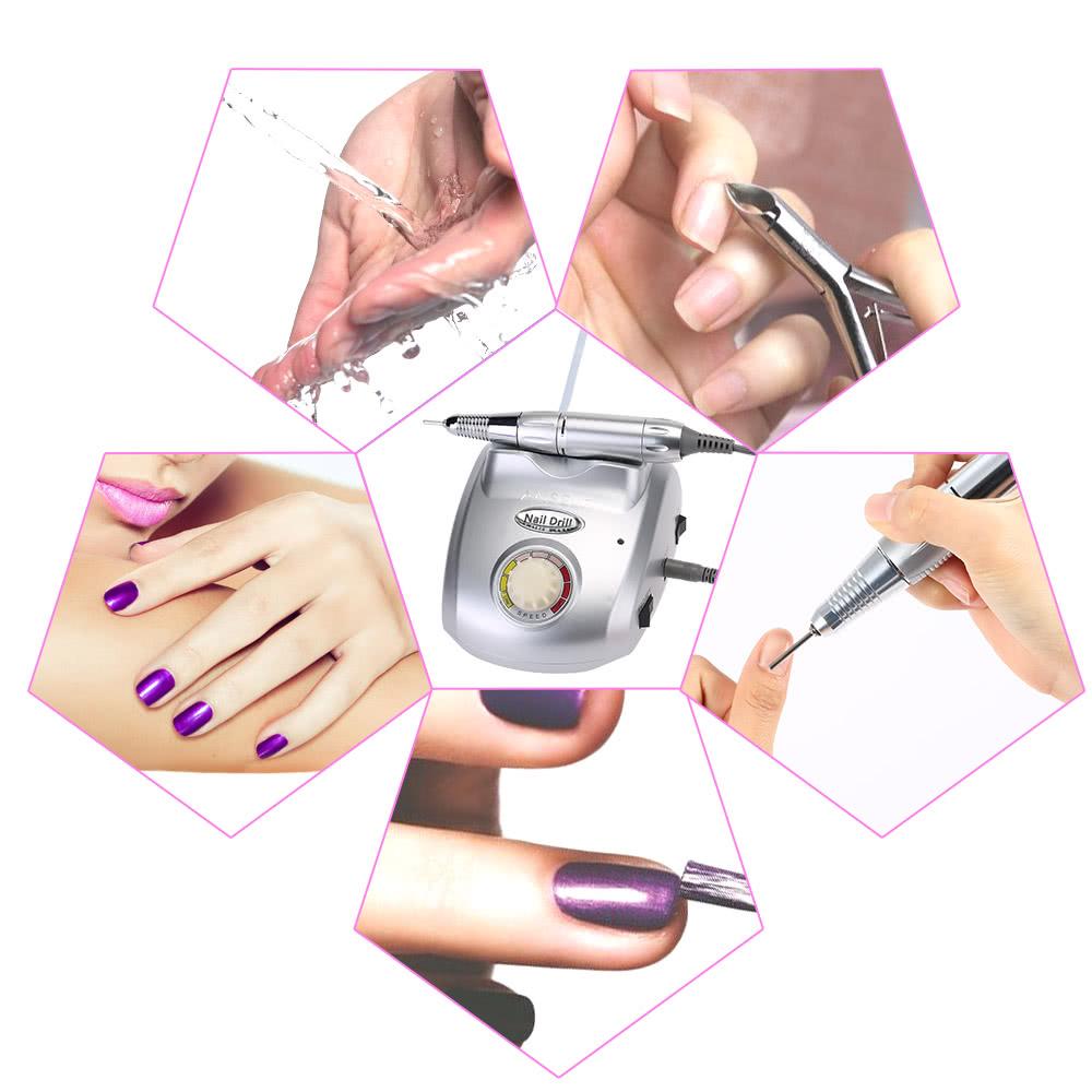 Anself nail machine lectrique drill fichier nail art for Salon machine outil paris