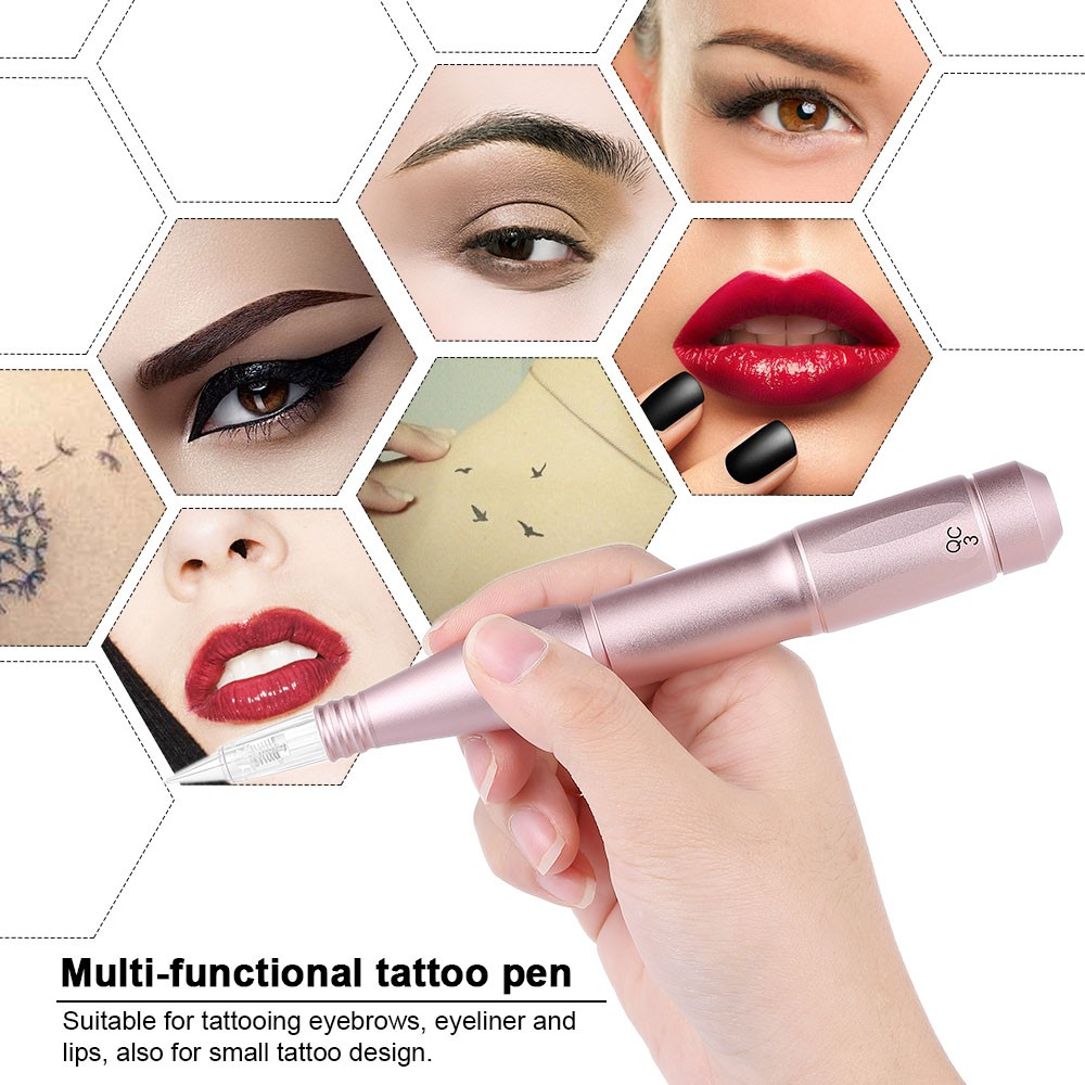 Eyebrow Tattoo Machine Set Professional Tattooing Pen Eyebrow Tattoo Machine Lip Makeup Tattooing Pen