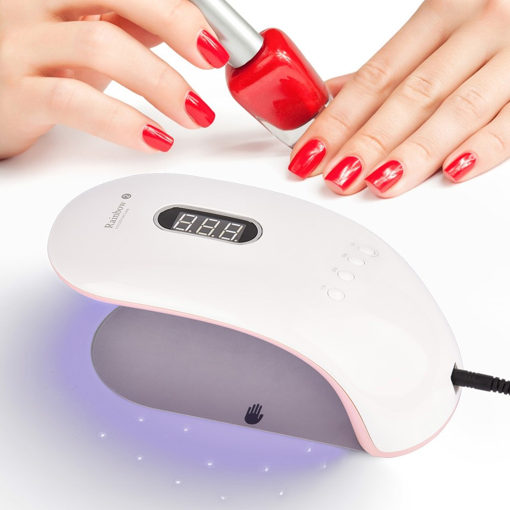 36W UV LED Nail Lamp Professional Nail Gel Dryer Machine Fingernails ...