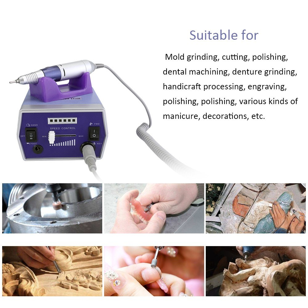 30000r Electric Nail Polish Remover Tools Nail Drill Machine Nail ...