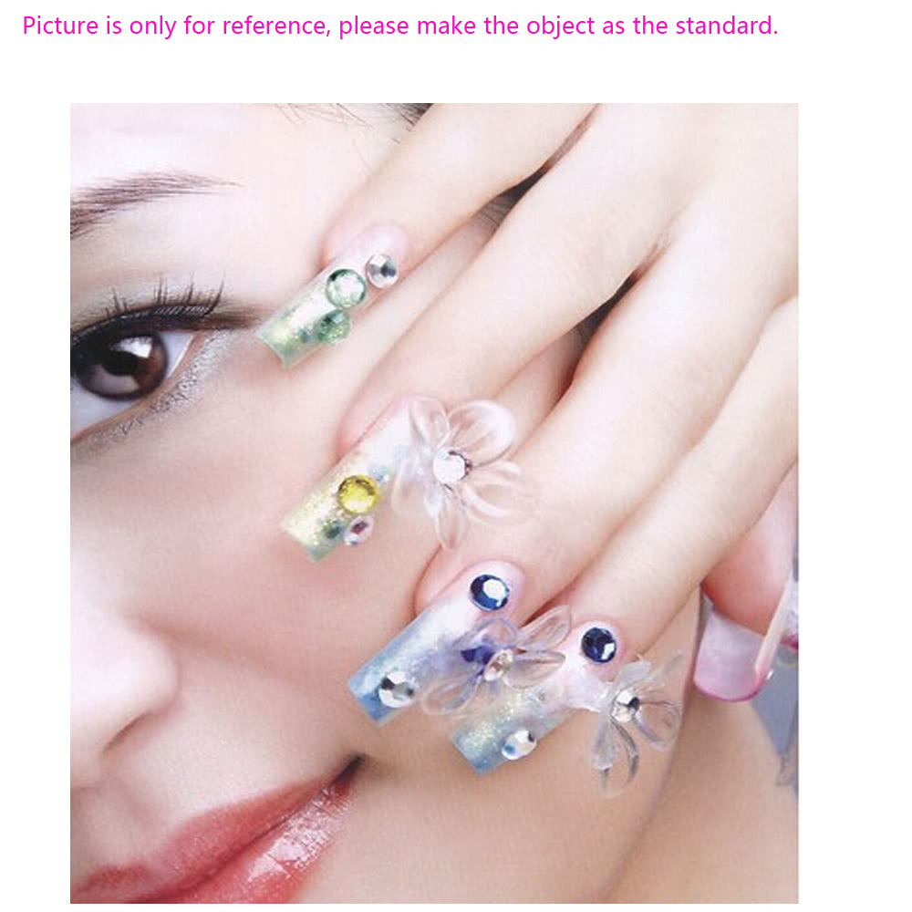 6pcs nail art outils taille diff rente courbe tige colle ongles artificiels outil rose. Black Bedroom Furniture Sets. Home Design Ideas