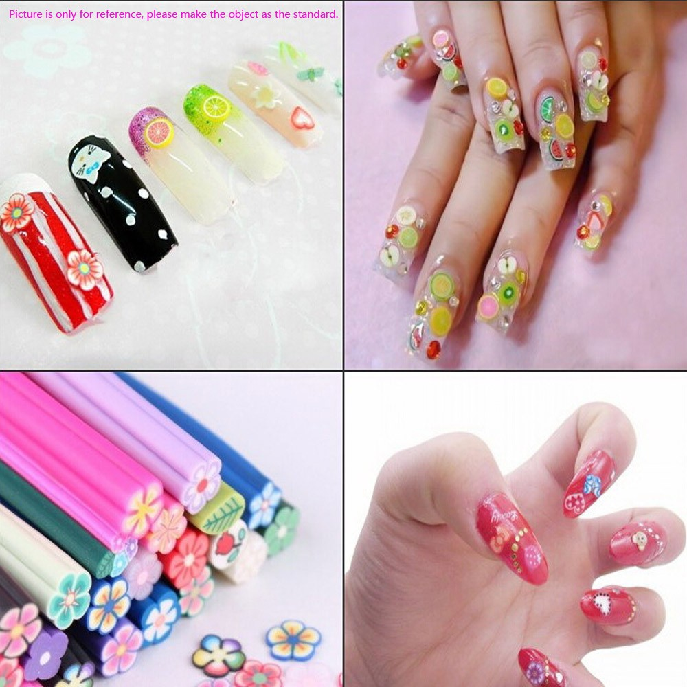 Colorfull Women Lady Girl Nail Art Stickers Butterfly Shape Nail ...
