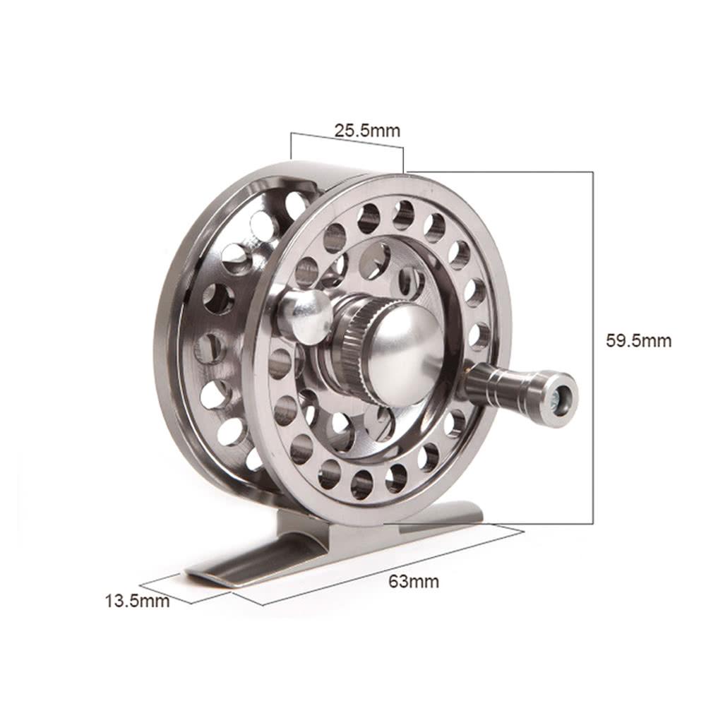 Fly fishing ice fishing reel 2 1 bb ball bearing gear for Sa fishing promo code free shipping
