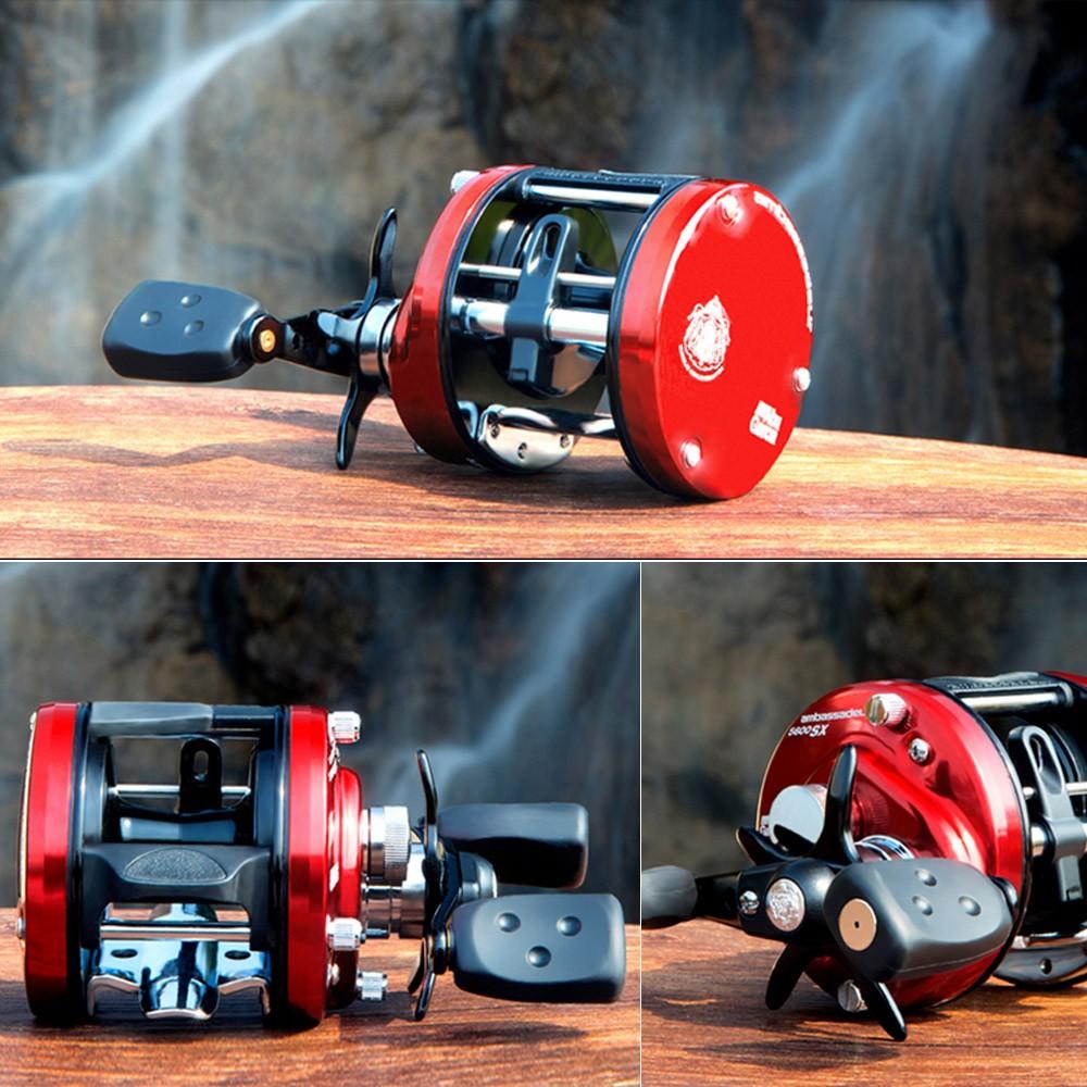 Abu garcia aluminum cnc machined round baitcast fishing for Az game and fish boat registration