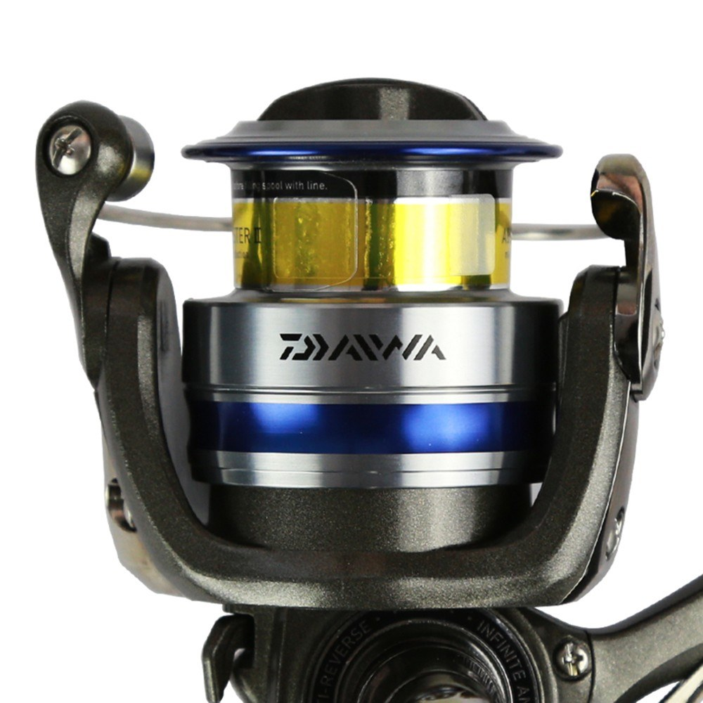 DAIWA Spinning Fishing Reel Left/Right Interchangeable Handle Spinning Reel with Extra Spool - US$49.98 Sales Online #2 - Tomtop