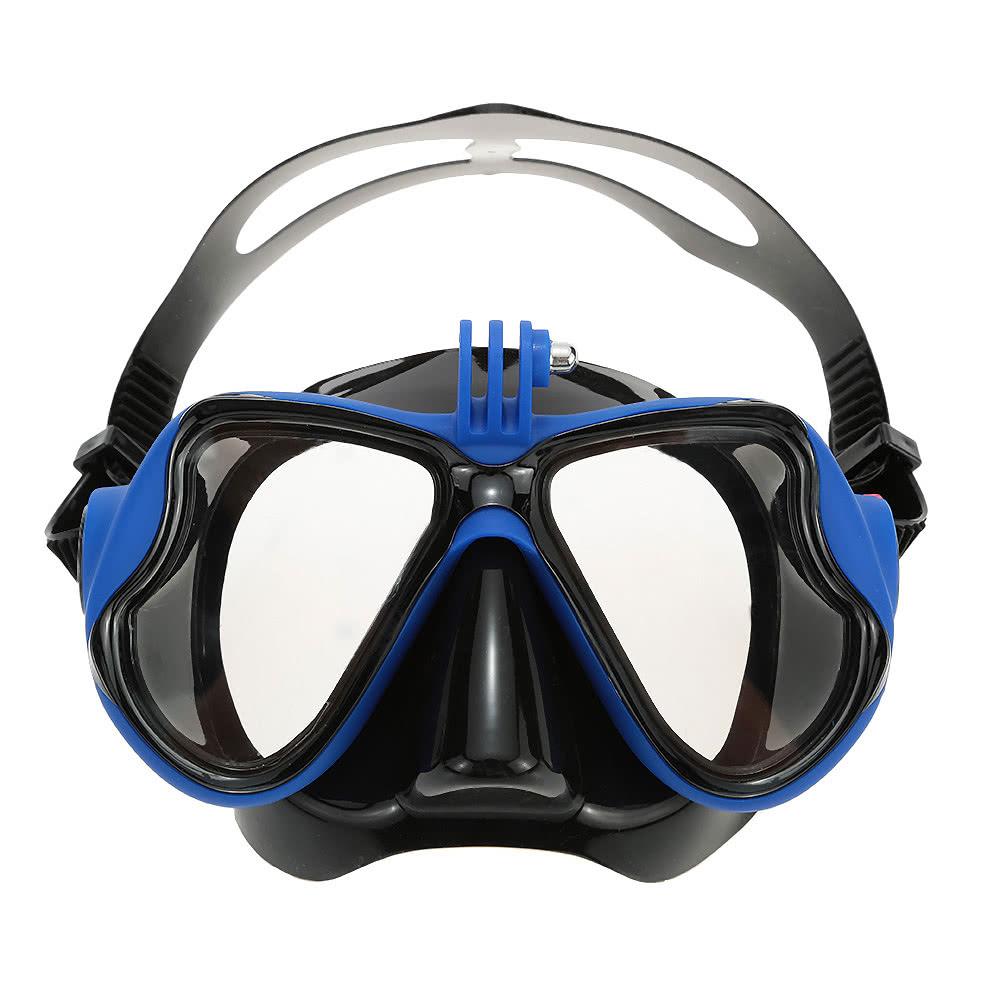 970dbc3f584 Lixada Adult Scuba Snorkeling Swimming Set Tempered Glass Diving Mask  Goggles + Full Dry Snorkel Tube