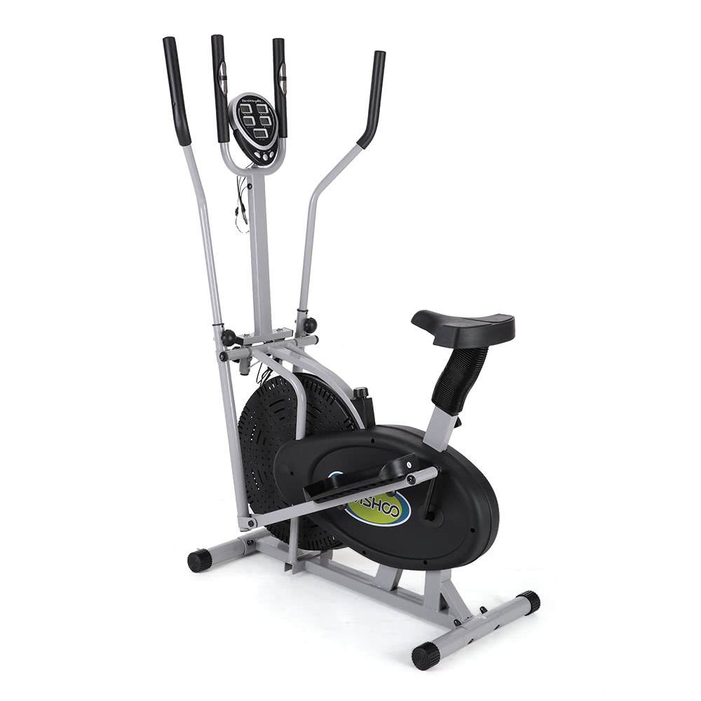 TOMSHOO Elliptical Bike 2 In 1 Exercise Bike Height