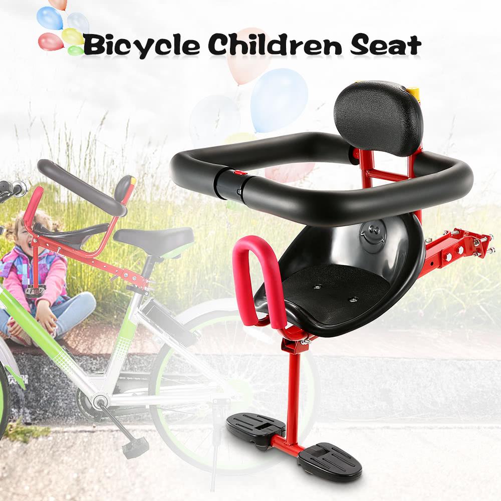 Lixada Child Bicycle Seat Kids Saddle Bicycle Bike Front Mount