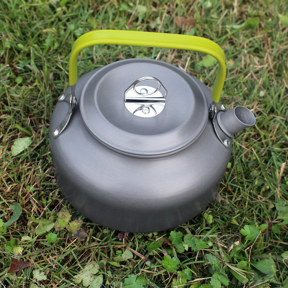 Outdoor Camping Cookware 9 Piece Pot Pan Kettle Bowl Spoon Set Backpacking Cooking Picnic Camping Cookware Kit for 2 - 3 Persons - US$33.91 Sales Online #1 ...