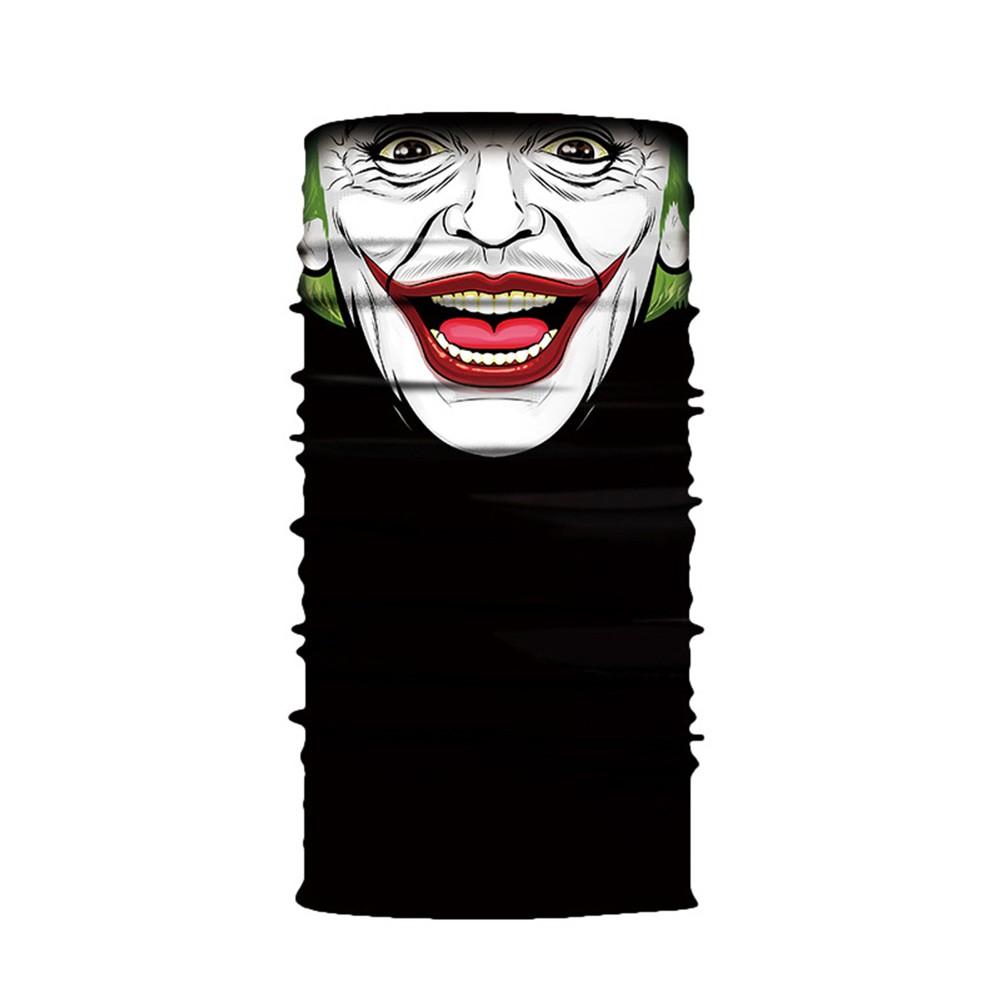 Cool Robot Skeleton Halloween Mask Scarf Joker Headband