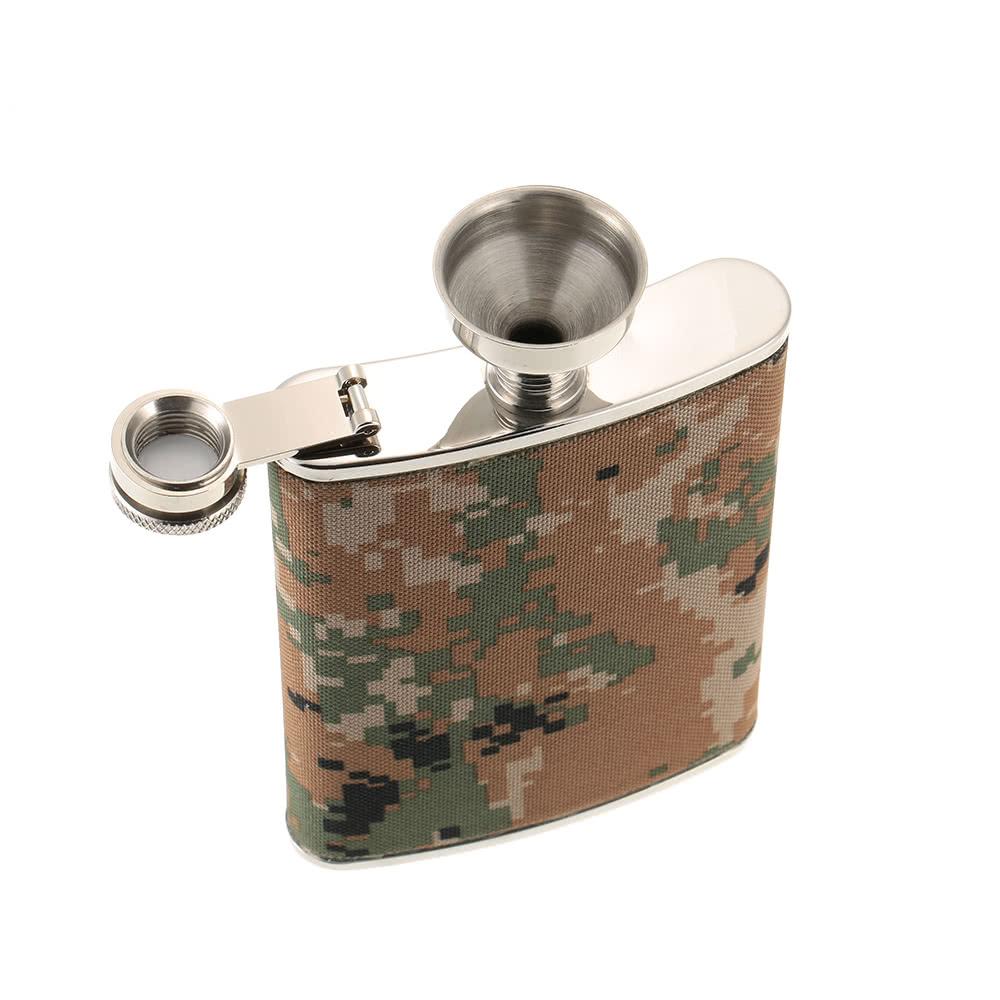 Hip flask campeggio esterno in acciaio inossidabile con il - Regalo piastrelle da esterno ...