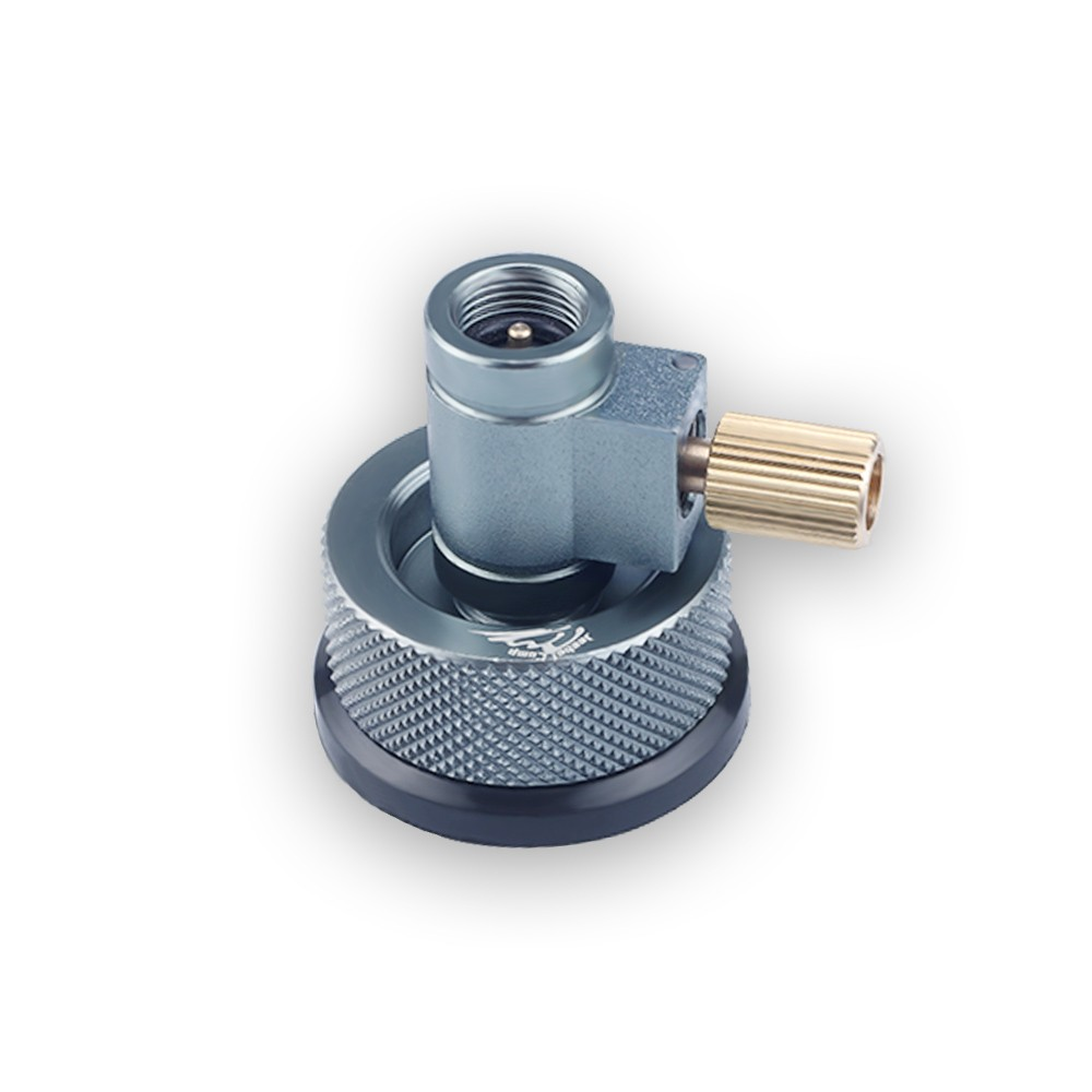 Lindal Valve Canister Gas Convertor Shifter Refill Adapter Air Vent Function Gas Burner Camping Stove Cylinders - US$11.35 Sales Online - Tomtop