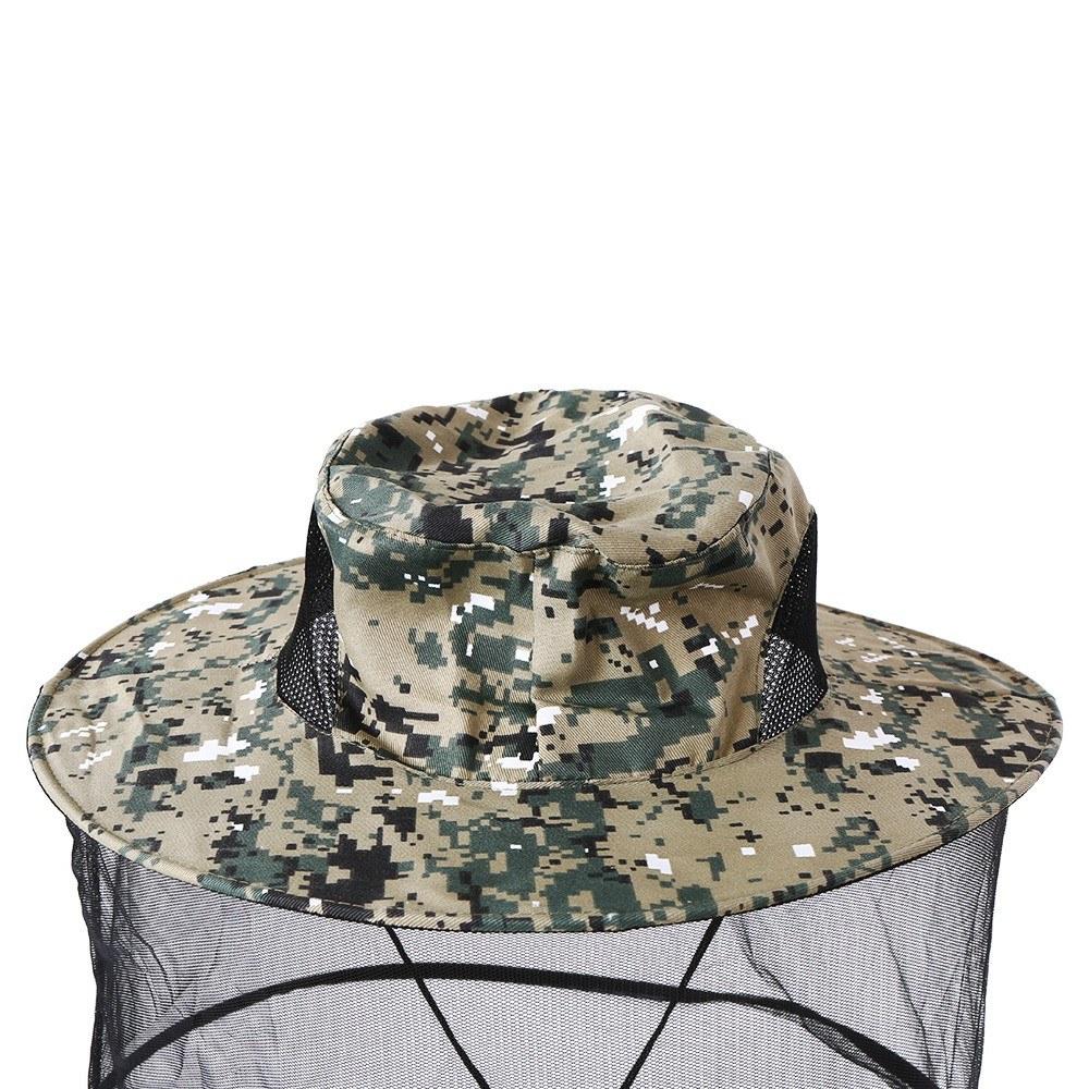 Sombrero repelente de mosquitos Cubierta protectora de la máscara Insecto  Insecto Repelente de abeja Cabeza Malla de red a0b2c95a8c1