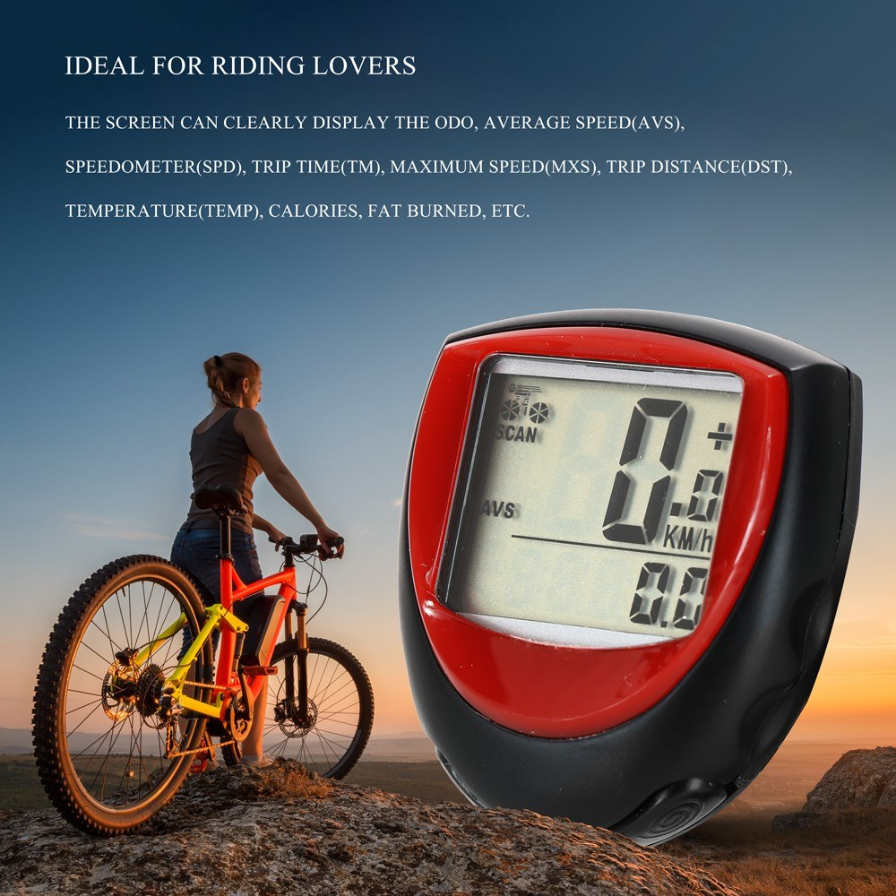 Bike Speed Meter Digital Bike Computer