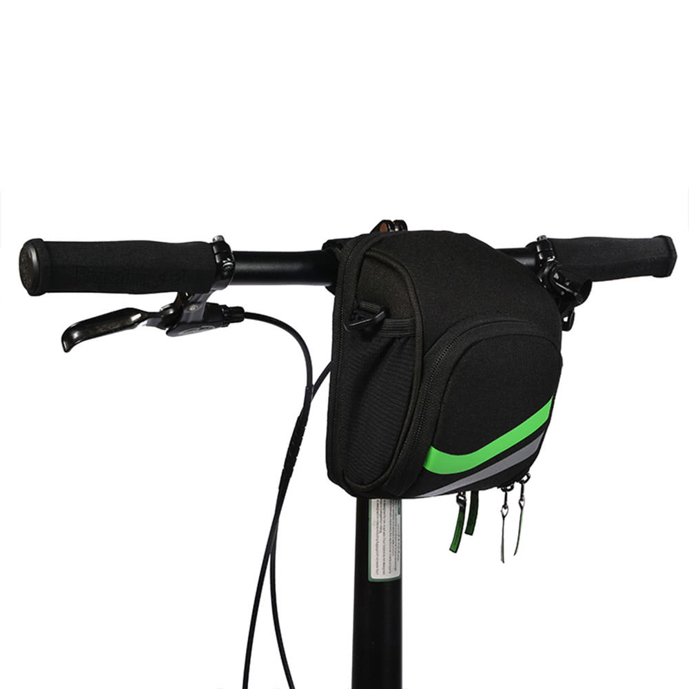 Rockbros Multi Purpose Mtb Bike Folding Bar Bag Pouch Front A 008 Handlebar Waterproof Pannier 3 4l Rear Saddle Seat Bicycle With Rain Cover Accessories