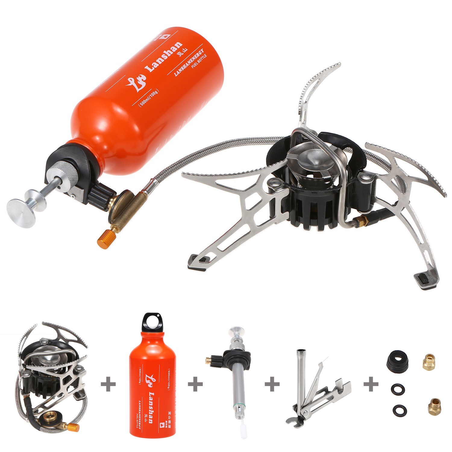 tomtop.com - 39% OFF Outdoor Camping Multi Fuel Oil Stove, Limited Offers $52.69
