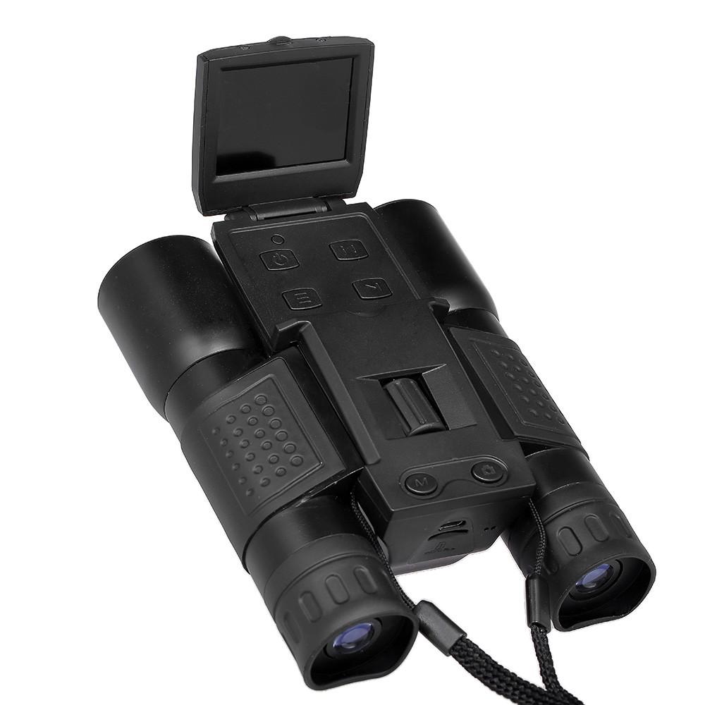 Lornetka Z 12 Krotnym Cyfrowym Aparatem Fotograficznym 720p Teleskop Z Rejestratorem Wideo