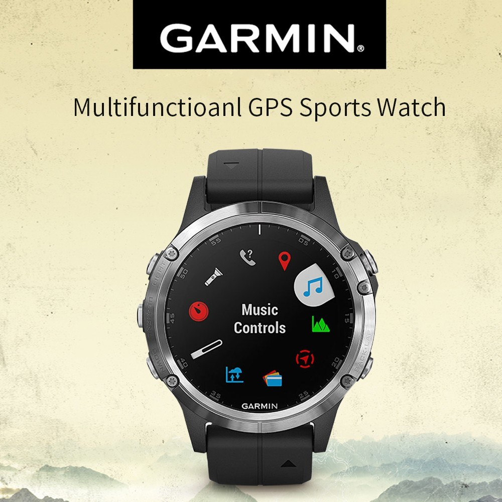 Garmin Fenix 5 Plus Multisport Gps Smart Sports Watch Us 899 99