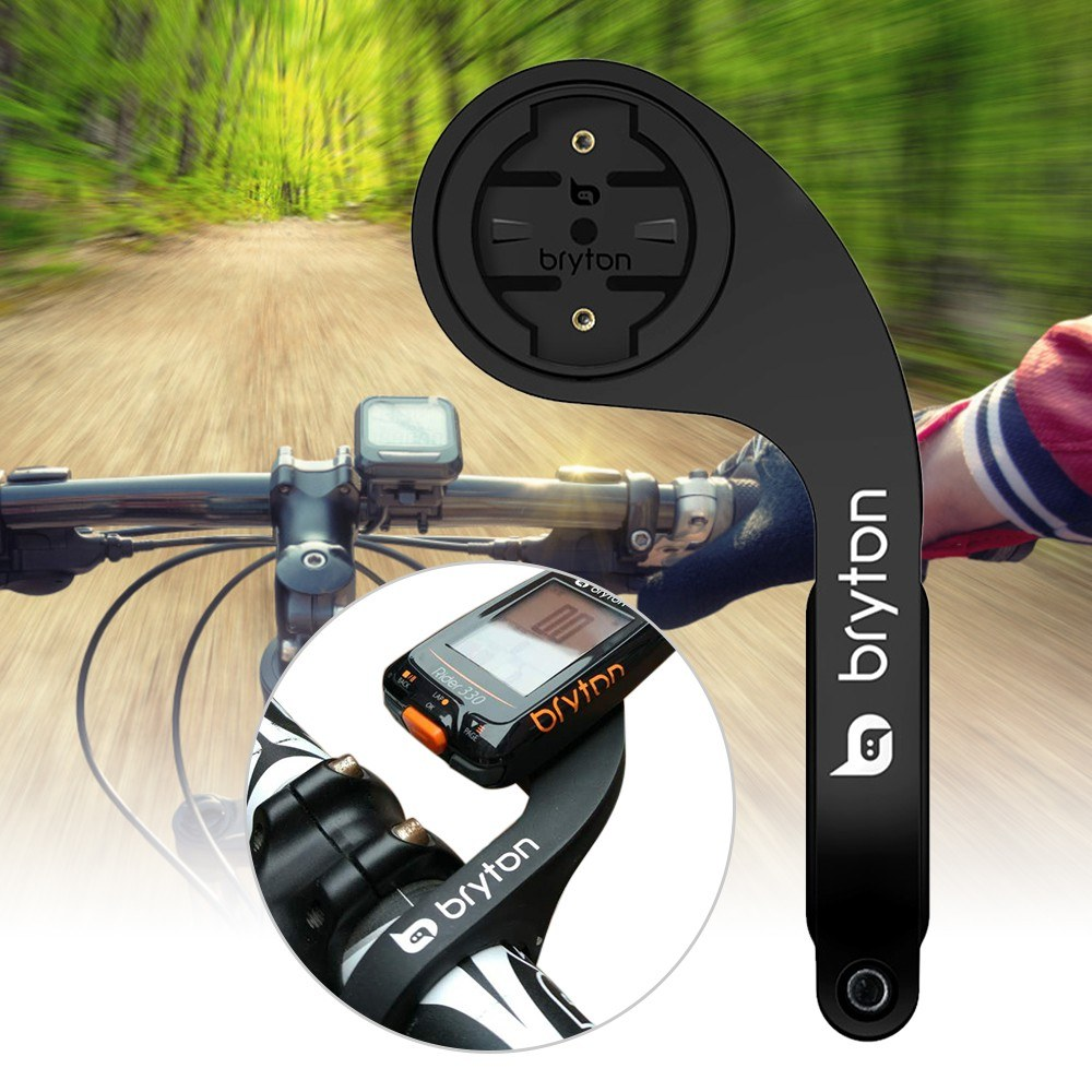 Out Front Bike Mount Holder Bicycle Computer Mount 25.4mm and 31.8mm Handlebars Bike Handlebar Mount Handle Bar Computer Mount