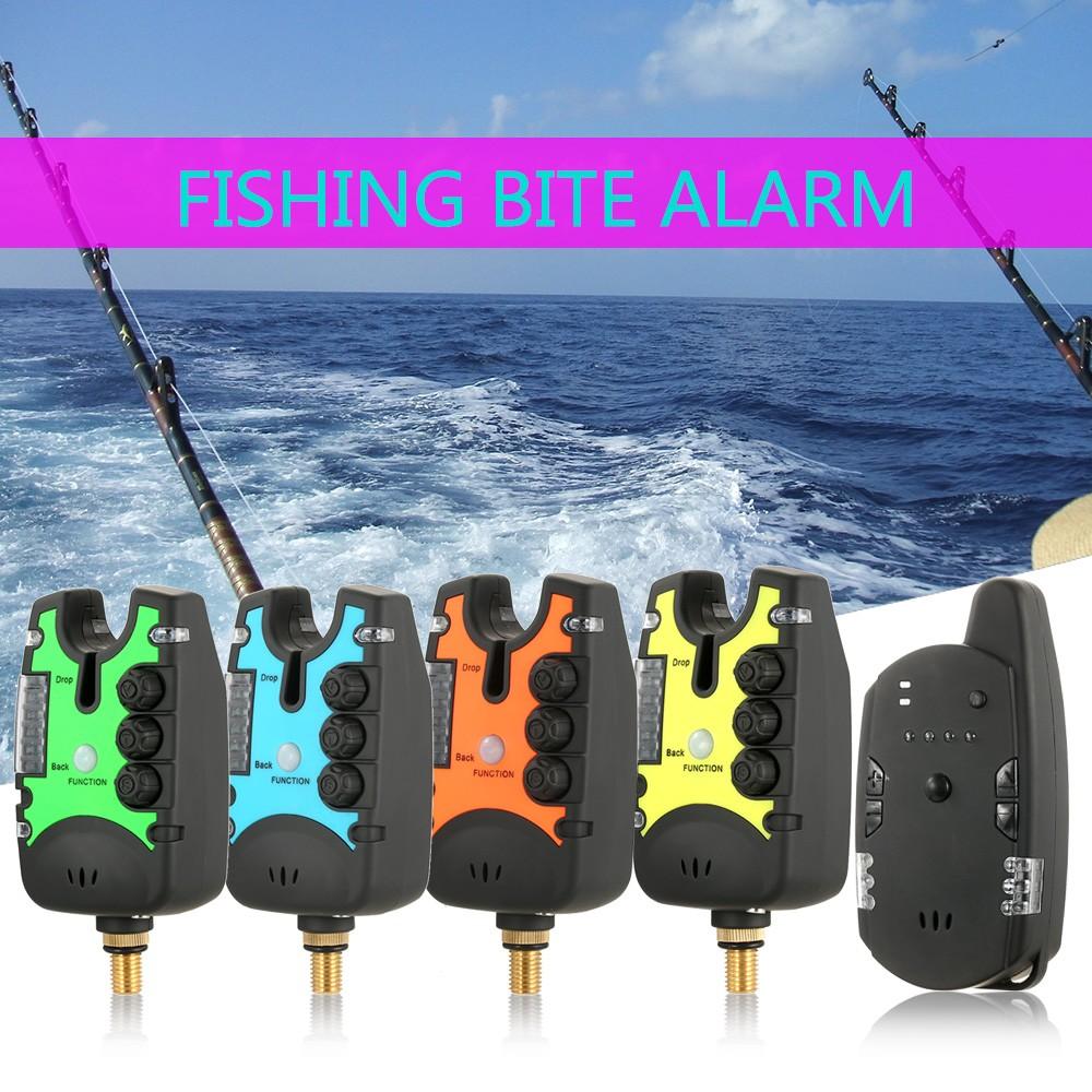 Lixada wireless fishing bite alarms set digital fishing for Fishing bite alarms