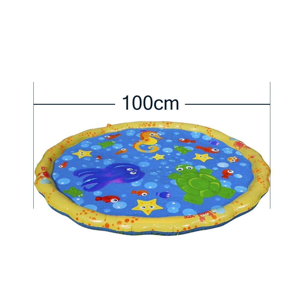Sprinkle and Air-filled Toy Play Mat