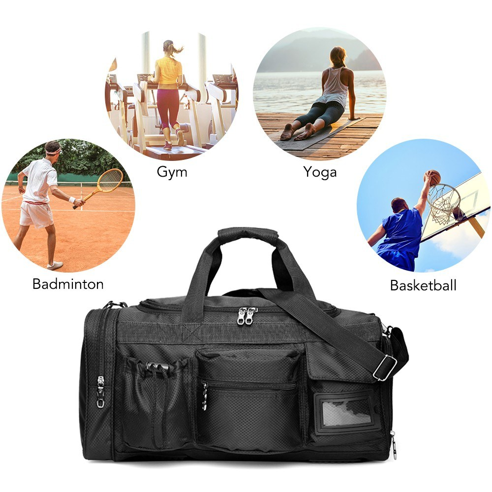 35L Sports Gym Bag Men Women