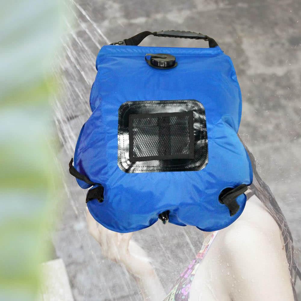sac de douche solaire portatif l ger pour plein air. Black Bedroom Furniture Sets. Home Design Ideas