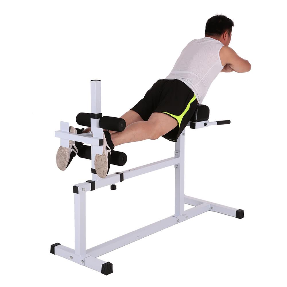Tomshoo hyperextension bench adjustable abdominal back