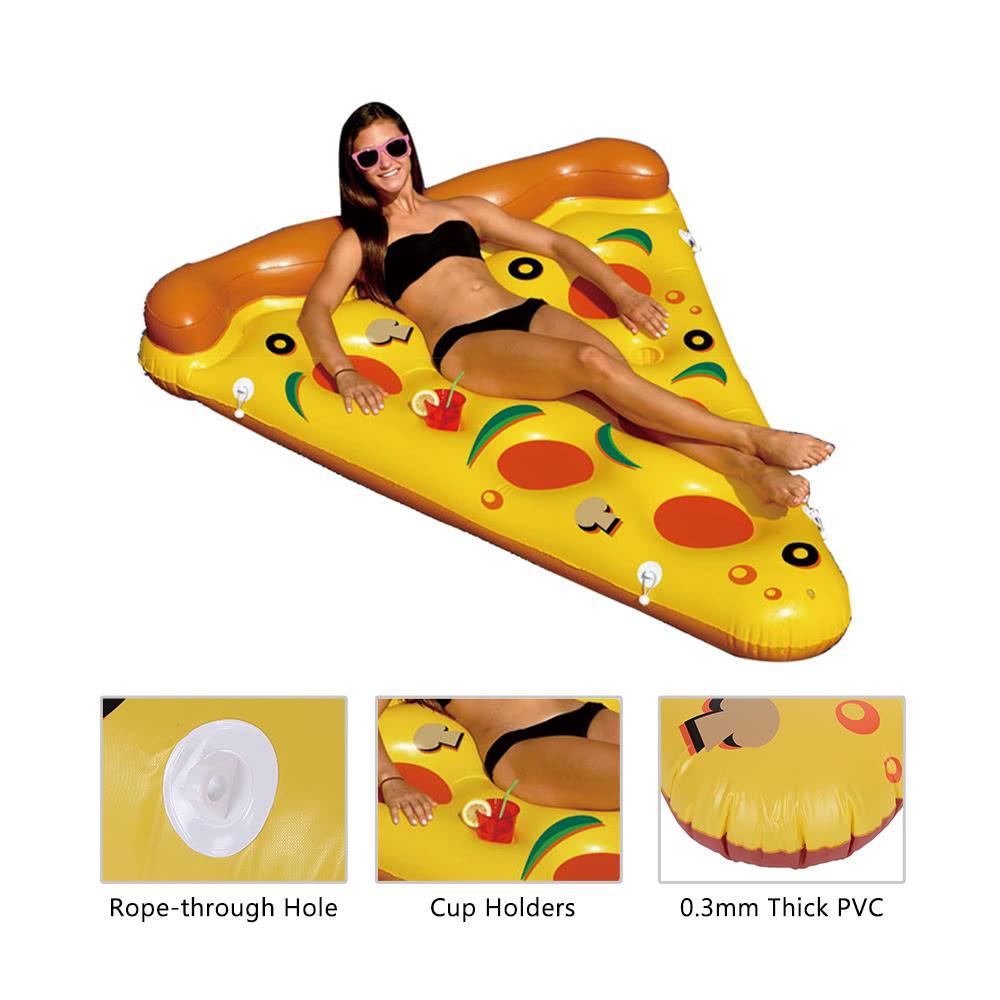 180 150cm gigante swim infl vel pizza piscina for Piscinas toy