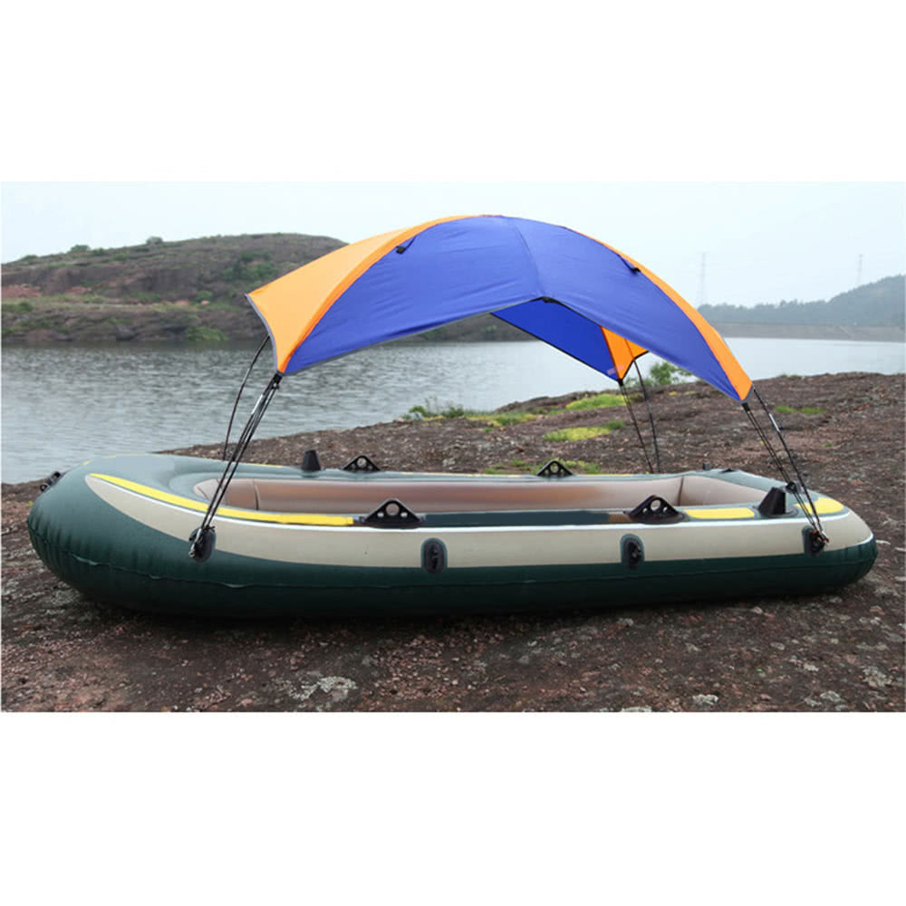 3 person inflatables boat sun shelter sailboat awning sun for 3 person fishing boat