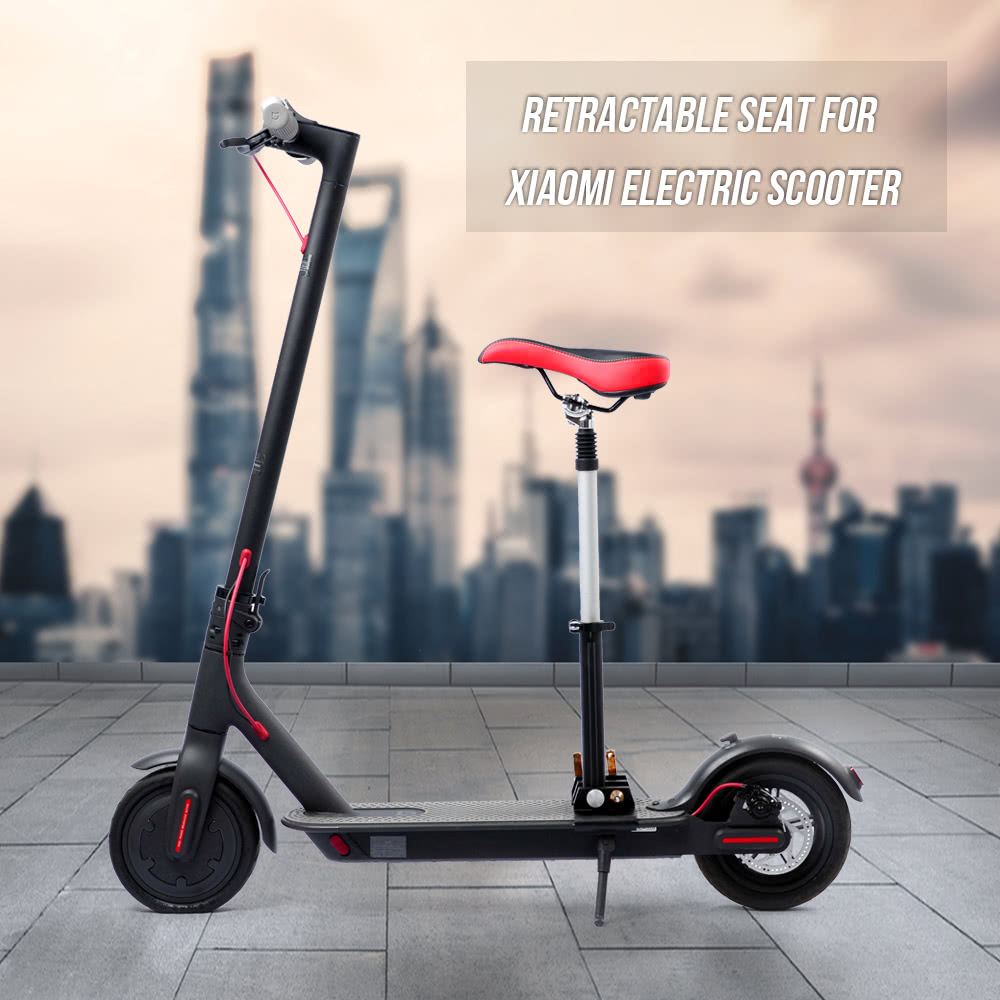 Electric Scooter Retractable Seat with Bumper for XIAOMI M365 XIAOMI Pro  Scooter