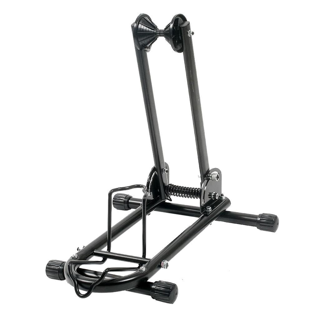 plancher de v los parking stockage support bike display holder rack pliant noir. Black Bedroom Furniture Sets. Home Design Ideas