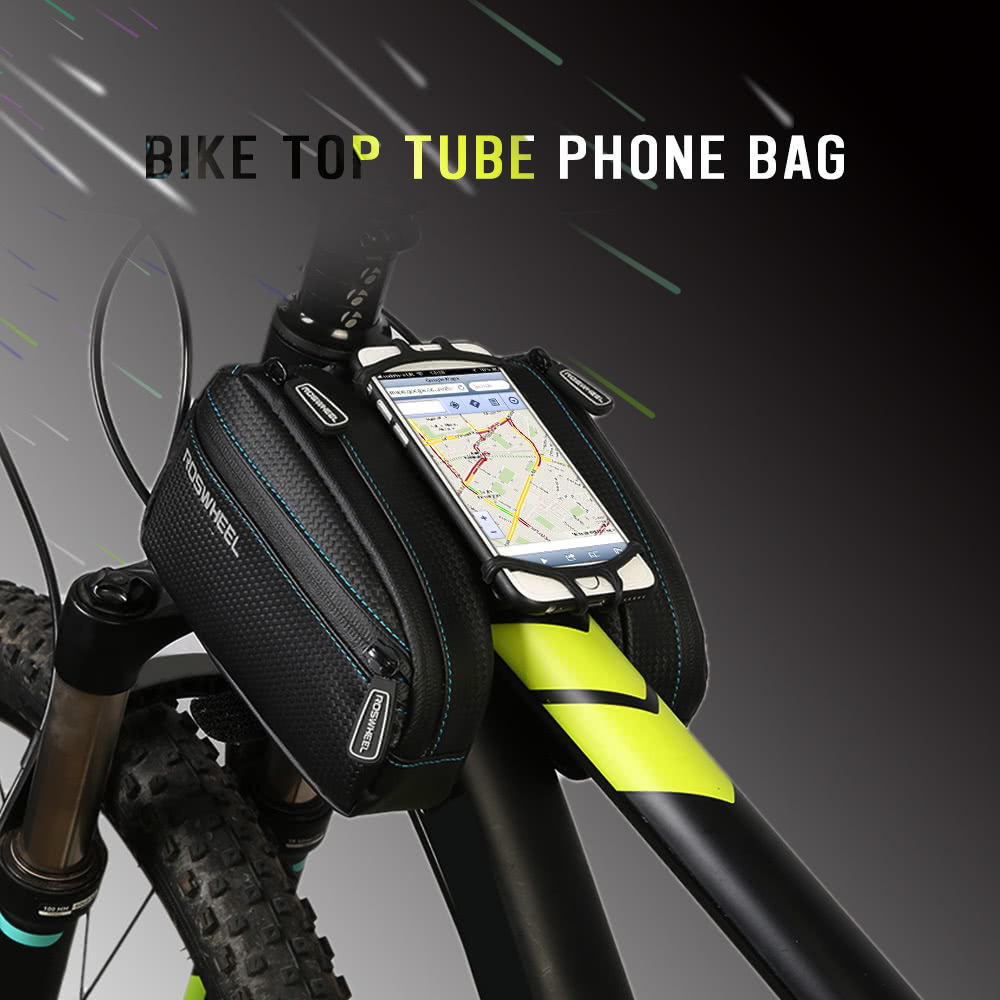 Roswheel Mtb Bike Bag Bicycle Front Frame Top Tube Bag Cycling
