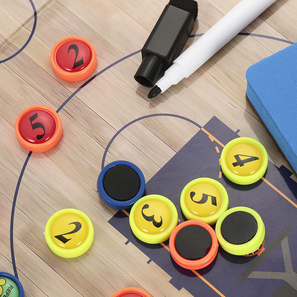 Magnetic Basketball Coach Board Erasable Folding Tactics Coaching Board  Clipboard with Zipper - US$13 72 Sales Online - Tomtop