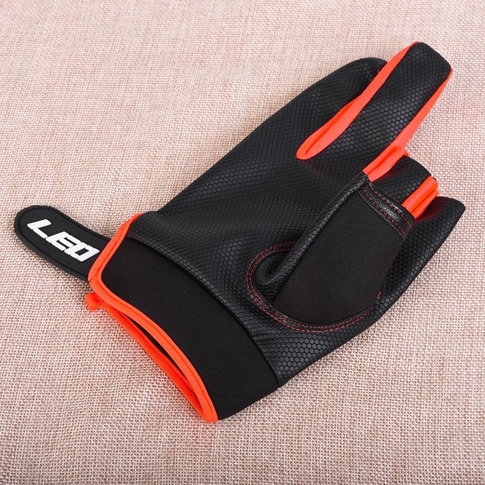 1 paire gants de p che moiti doigt anti slip gants 3 cut doigts gants de p che mitaines sports. Black Bedroom Furniture Sets. Home Design Ideas