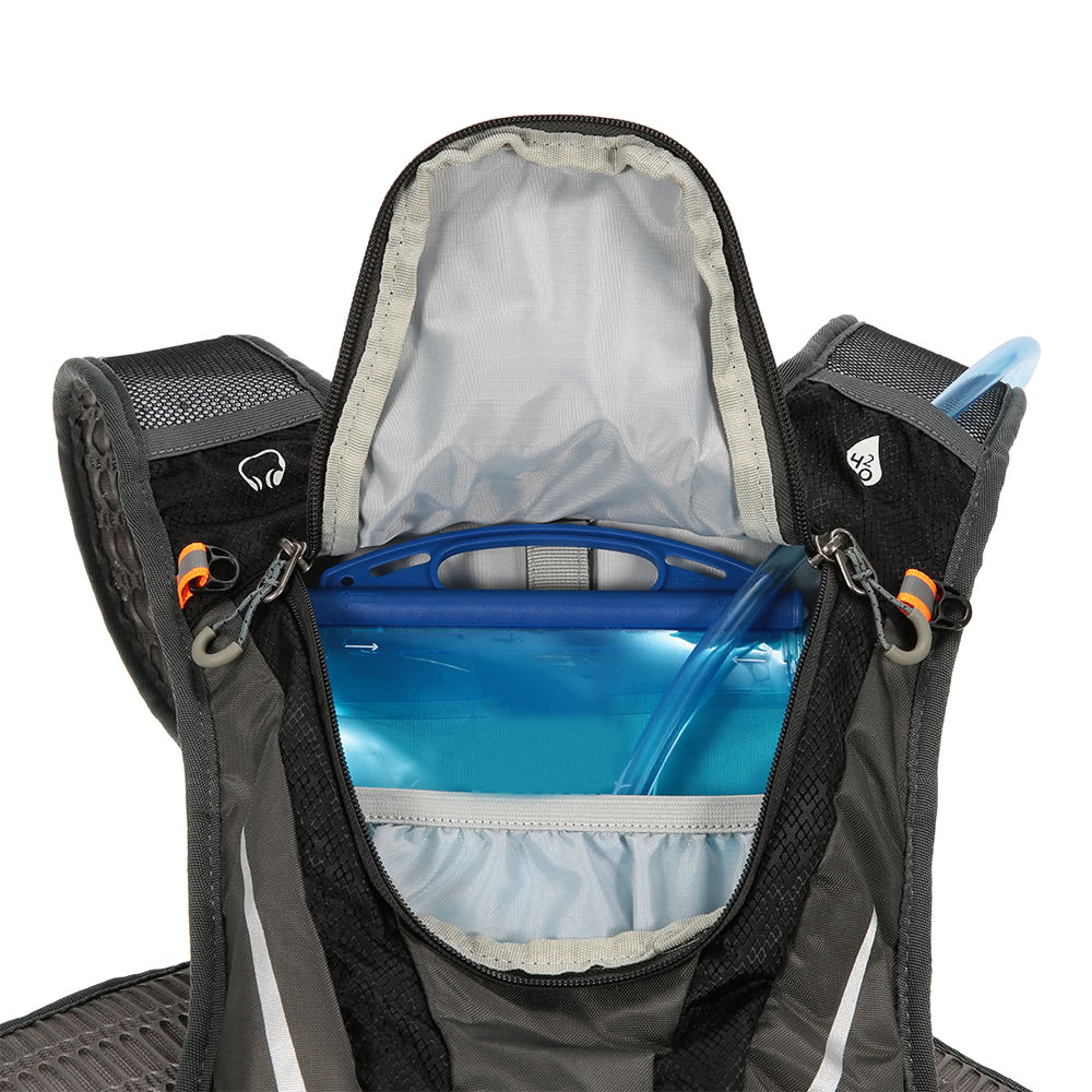 5L Sturdy Water Resistant Outdoor Backpack Cycling Backpack Bag Biking Hiking Bag Shoulder Bag Backpack Daypack Lightweight Holds Hydration Bladder(Not Included)