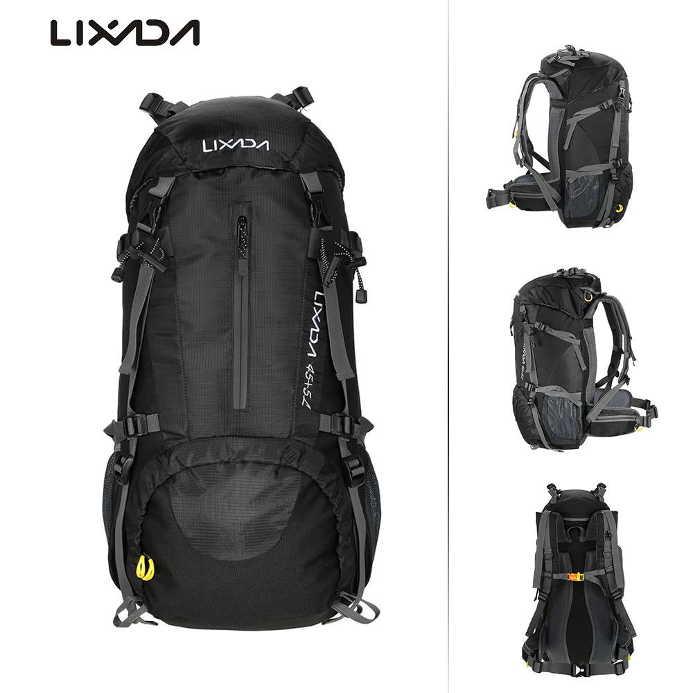 Rucksacks & Backpacks Mountain Warehouse GB Source · Gear Bag Outdor Series 01 Black Red Backpack