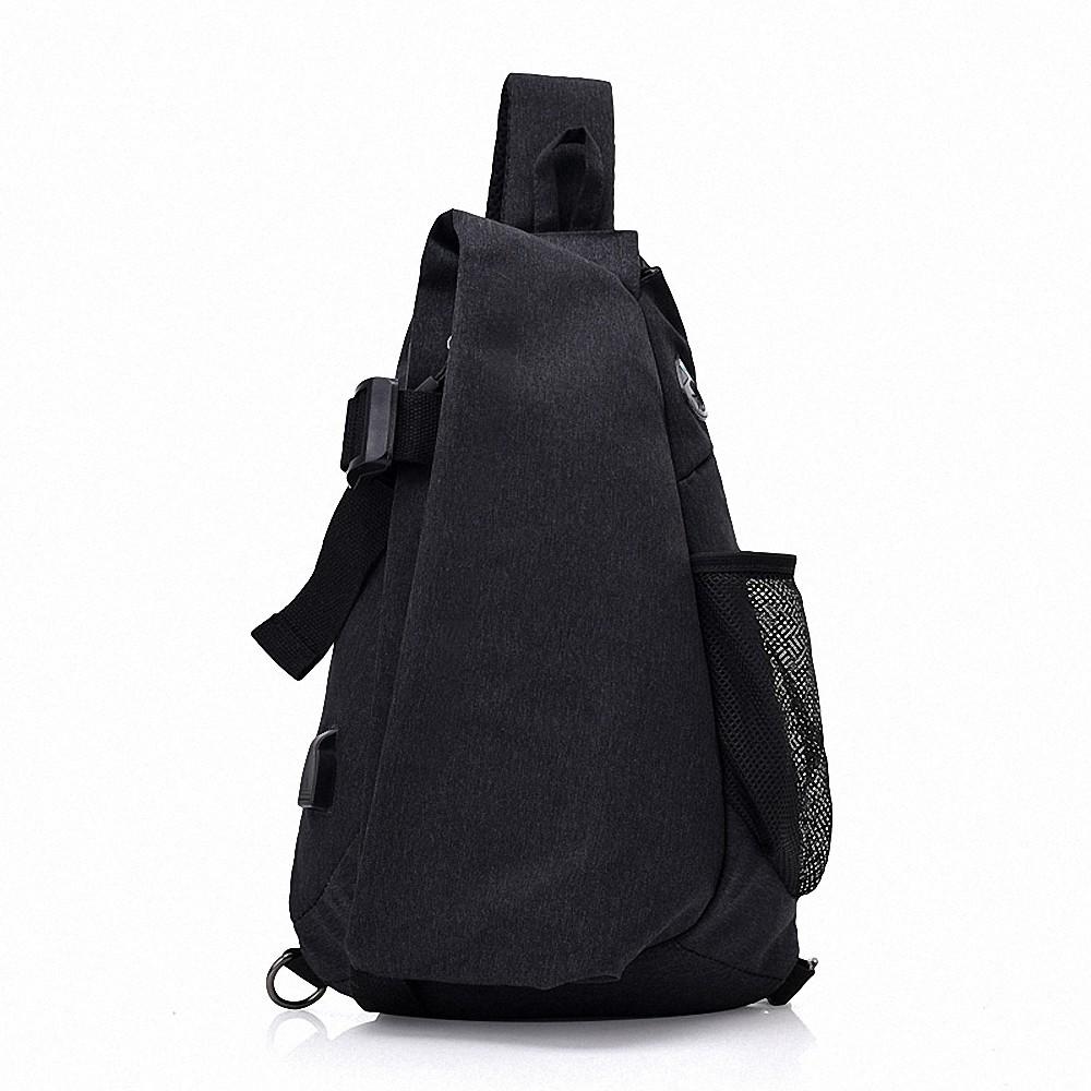 14e4a3ff7e Lixada Men Chest Bags Casual Chest Pack Anti Theft Sling Crossbody Bags  Messenger Bag Shoulder Bag