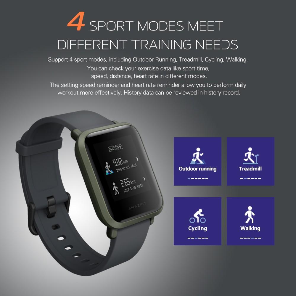 【top Sellers】xiaomi Huami Amazfit Bip Gps Smart Sport
