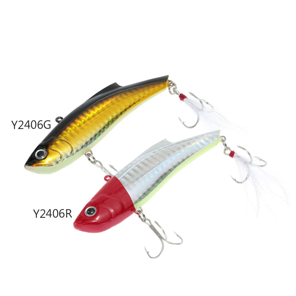 9cm 27g vib vibration hard bait perch killer fishing lure for Perch fishing lures