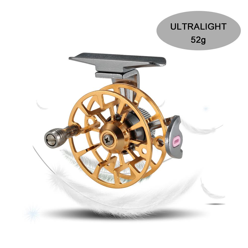 Mini ultralight fly reel right handed fly fishing reel cnc for Ultralight fly fishing