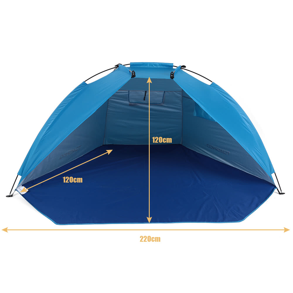 TOMSHOO Outdoor Sports Sunshade Tent for Fishing Picnic Beach Park  sc 1 st  Tomtop.com & TOMSHOO Outdoor Sports Sunshade Tent for Fishing Picnic Beach Park ...