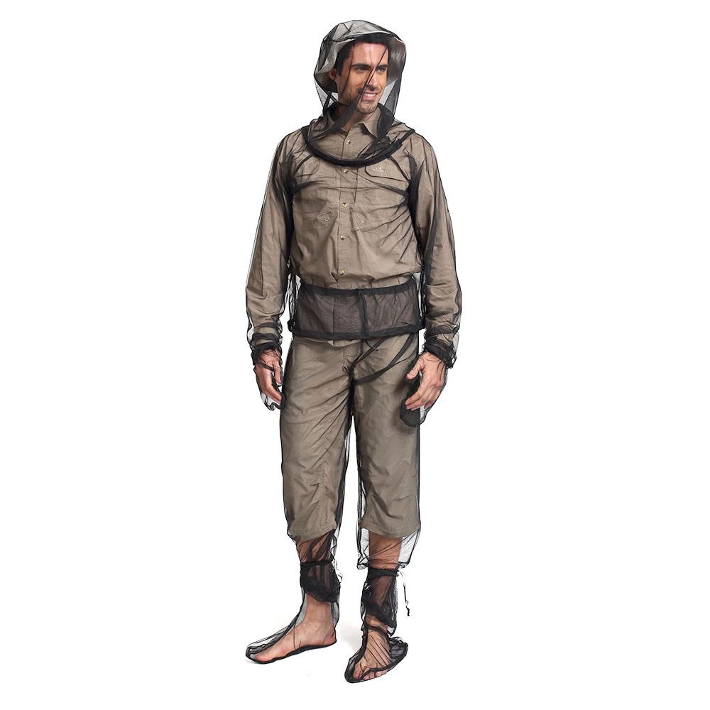 Lixada lightweight summer bug wear mosquito suit jacket for Lightweight fishing pants