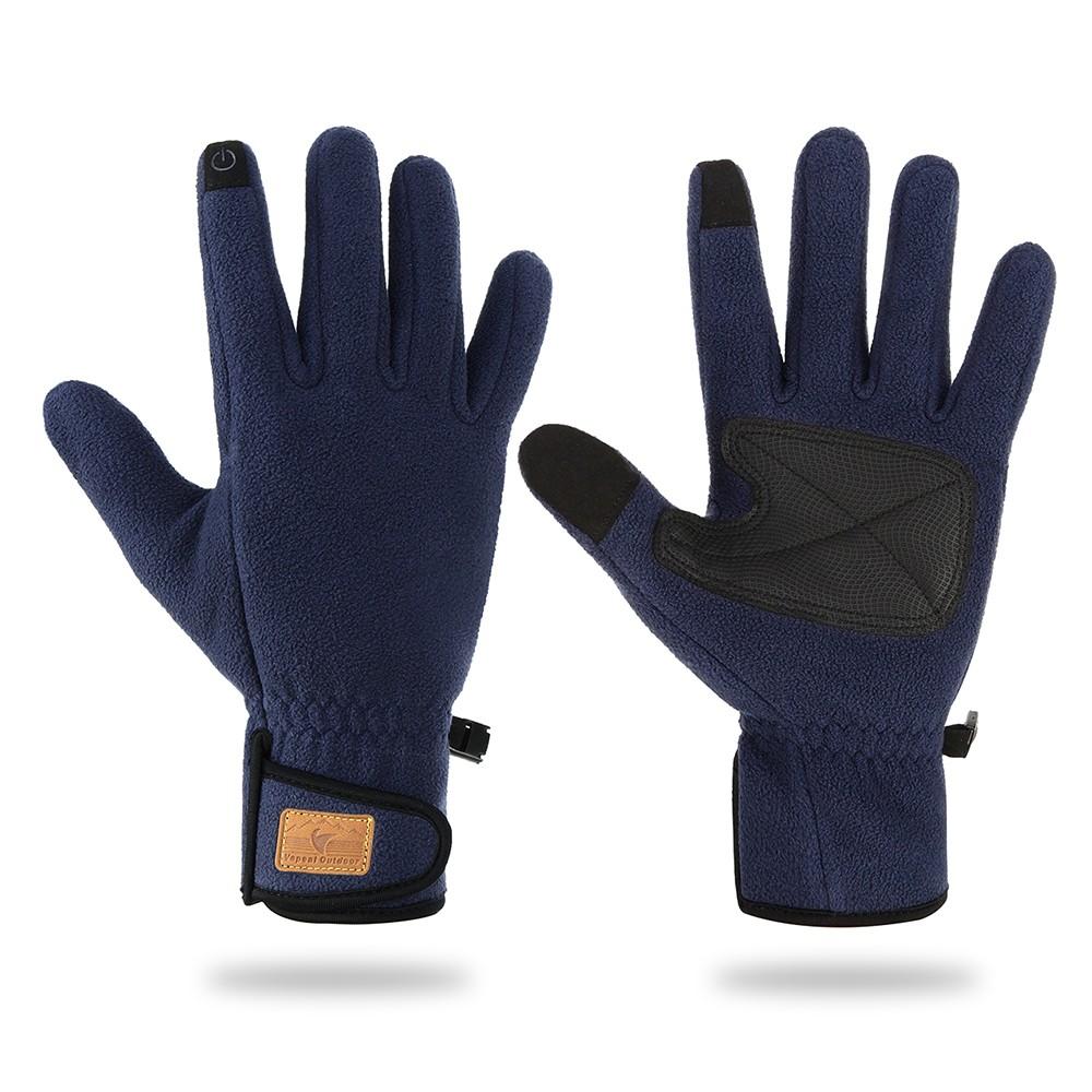 gants chauds d 39 hiver de sports d 39 hiver chauds de molleton de gants d 39 cran tactile pour des. Black Bedroom Furniture Sets. Home Design Ideas