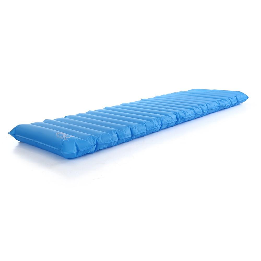 coussin de couchage gonflable ext rieur bleu. Black Bedroom Furniture Sets. Home Design Ideas
