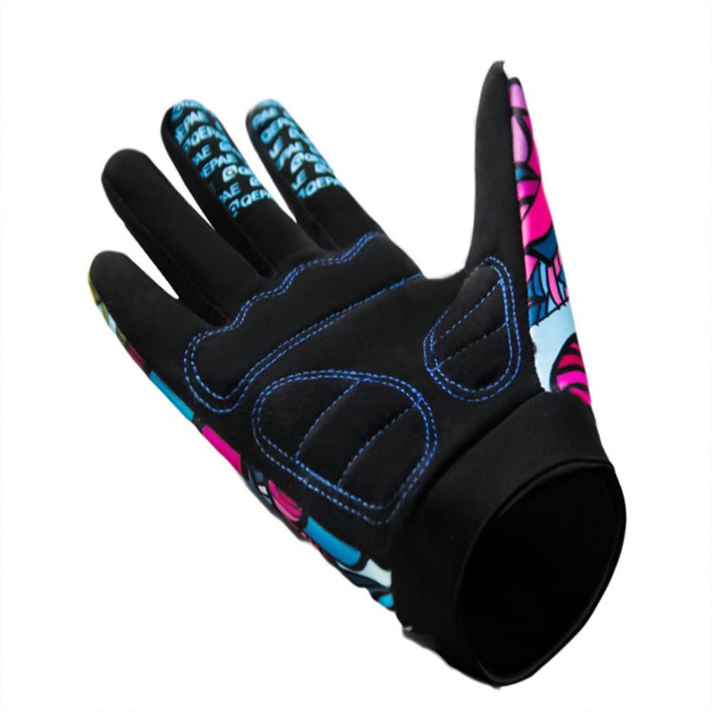 v lo cyclisme gants doigts en plein air sport anti d rapant gants de v lo respirant fitness. Black Bedroom Furniture Sets. Home Design Ideas