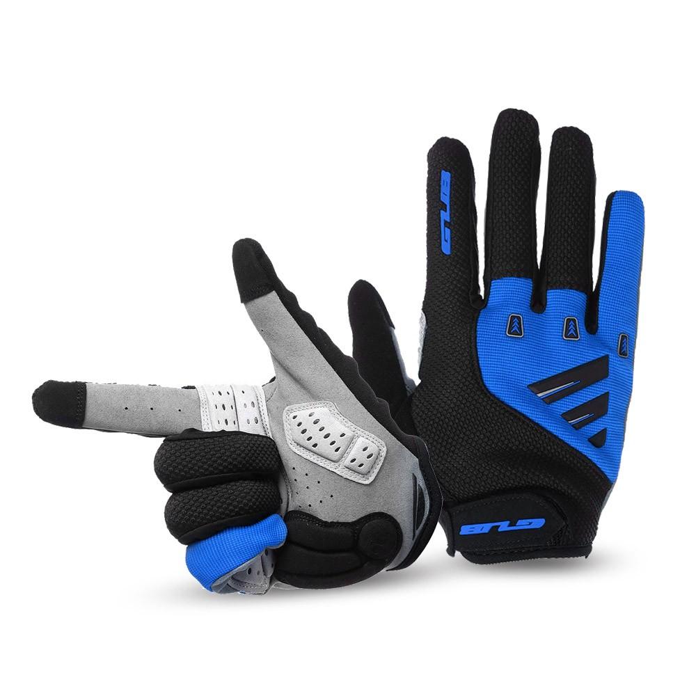 unisexe gel rembourr cran tactile complet doigt gants de v lo vtt route v lo quitation gants. Black Bedroom Furniture Sets. Home Design Ideas