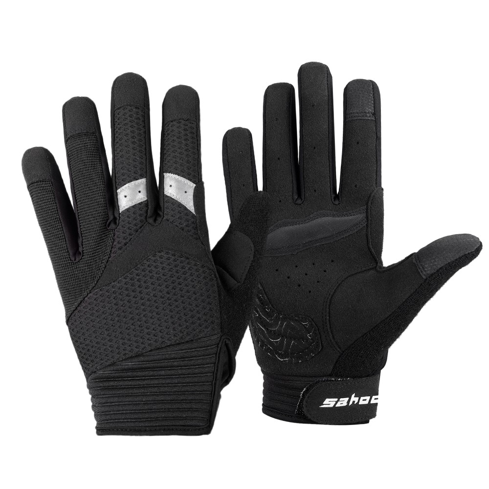 $3.16 OFF SAHOO Touch Screen Full Finger Cycling Gloves,free shipping $9.48