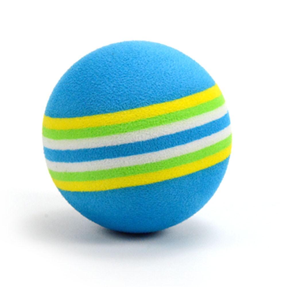 6PCS Professional Golf Balls Colorful Rainbow Kids ...